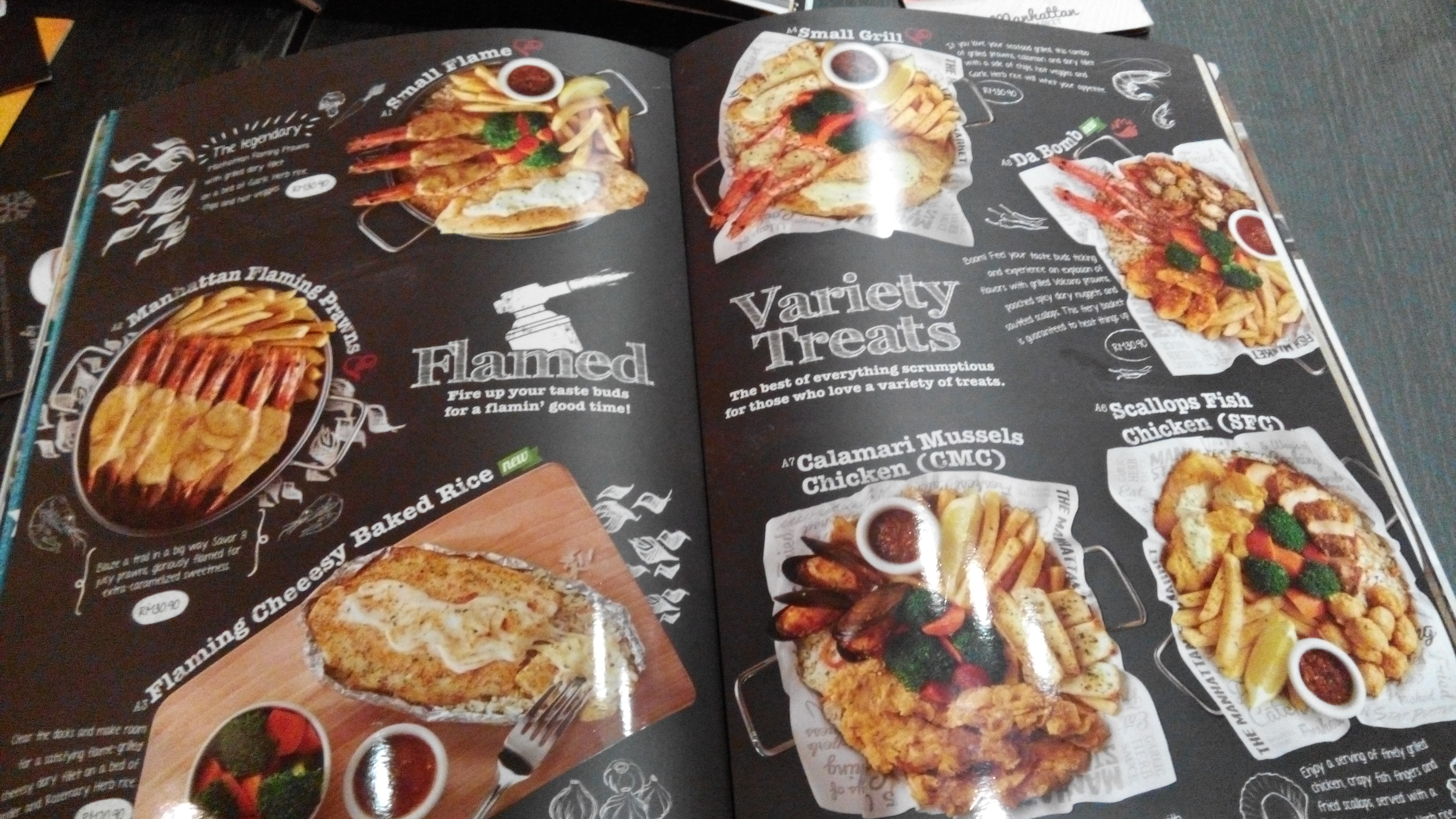 Lunch di the manhattan fish market midvalley hazriq 123 for Manhattan fish and chicken menu